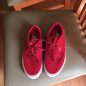 Vans shoes size 4youth